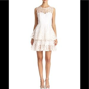 Milly Tiered White Dress